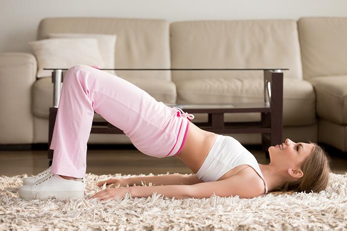 ejercicio 4 ? puente para gluteos