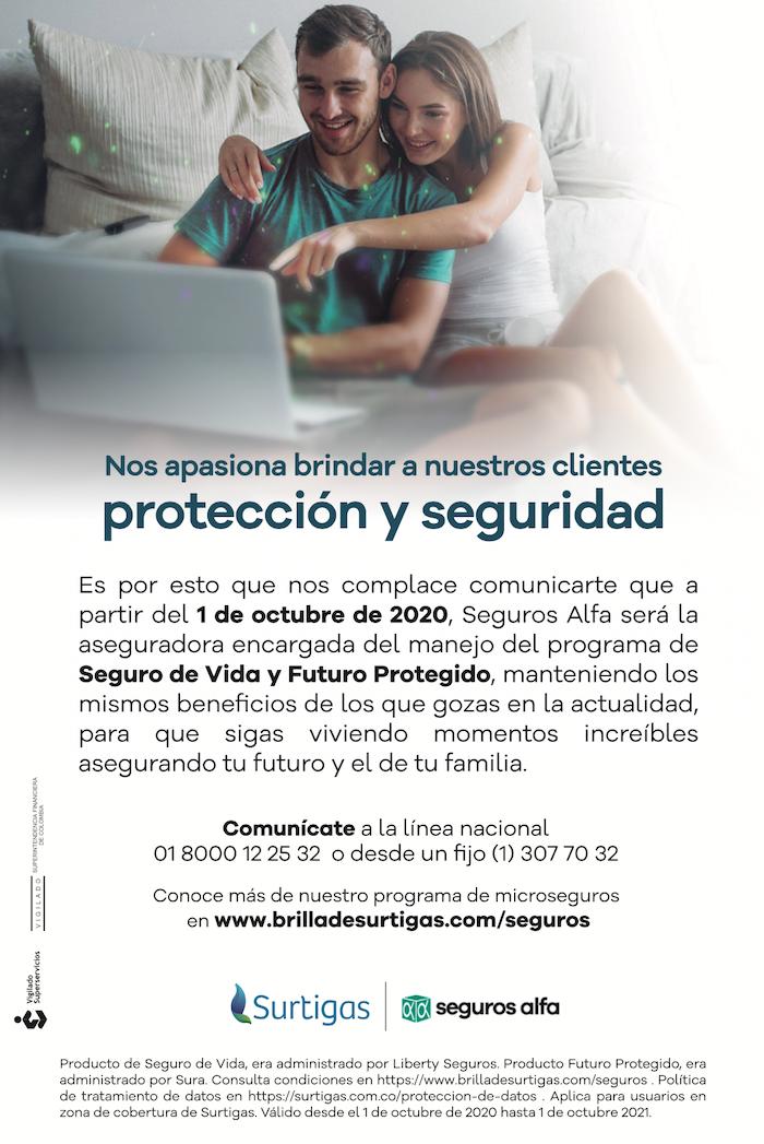Protege y asegura tu dinero con Brilla Surtigas en Cartagena